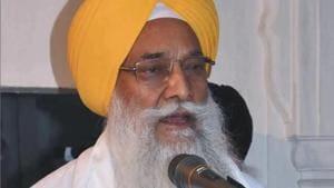 Akal Takht jathedar Giani Gurbachan Singh(HT File)