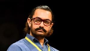 Bollywood actor Aamir Khan attends the 5th Indian Screenwriters Conference in Mumbai.(AFP)