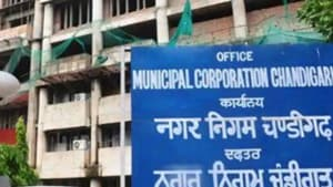 The civic body is blamed for being biased towards the government departments as compared to private sector, in terms of tax collection.(HT FILE)