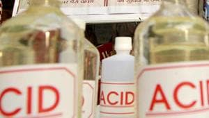 A woman in Greater Noida was allegedly forced to drink acid by members of her sister-in-law's family. (Representational Image)(Sanjeev Verma / HT File)