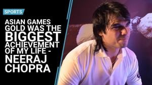 Asian Games gold is the biggest achievement of my life: Neeraj Chopra