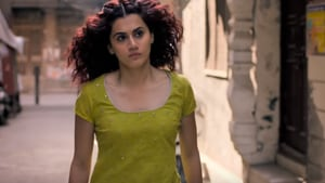 Taapsee Pannu in a still from Manmarziyaan, also starring Abhishek Bachchan and Vicky Kaushal.