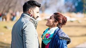 Abhishek Bachchan and Taapsee Pannu in a still from director Anurag Kashyap's Manmarziyaan.