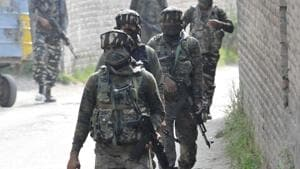 An army man was killed by suspected militants in south Kashmir's Kulgam district on Monday.(Representative photo)