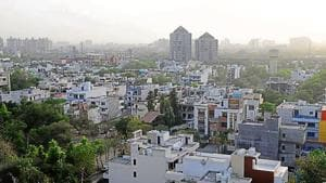 Both Sushant Lok 1 and Palam Vihar have been developed by Ansal Properties and Infrastructure Ltd. Once their maintenance is transferred to the MCG, their infrastructure will improve.(HT File Photo)