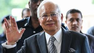 Malaysia's toppled leader Najib Razak was arrested Wednesday and will be charged over allegations that $628 million linked to state investment fund 1MDB ended up in his personal bank accounts, officials said.(AFP File Photo)