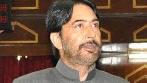 J&K Congress chief Ghulam Ahmad Mir (pictured) said if Congress is voted to power, it will build consensus to address concerns regarding Article 35A as per legislation of the state.(File Photo)