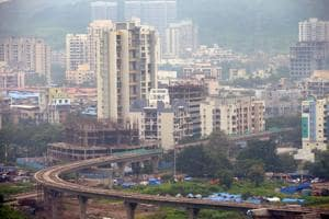 After Kharghar (above) and Panvel, Dronagiri is being seen as the next area in Navi Mumbai set for a boom.(Bachchan Kumar / HT Photo)