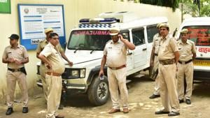 On Wednesday, Bhudev's wife Pinki submitted a complaint to the Gurugram police commissioner demanding post-mortem examination by a medical board to ascertain the cause of death, in addition to an SIT probe.(/HT PHOTO)