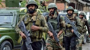 As the troopers of Rashtriya Rifles, Special Operations Group of the state police and CRPF tightened the cordon, the militants fired at them, triggering the gun battle, police said.(PTI/Picture for representation)