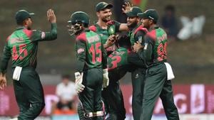 Bangladesh's chances of reaching the final of Asia Cup remain in their own hands.(AFP)