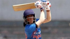 Jemimah Rodrigues guided India to victory over Sri Lanka in the T20 series in Colombo.(BCCI)