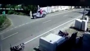 A CCTV grab(HT)