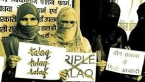 A man in UP's Bijnor was booked under the triple talaq ordinance after on the complaint filed by his first wife.(Prabhat Kumar Verma / HT File Photo)