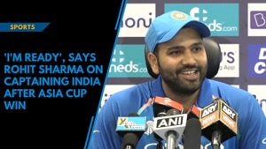 'I'm ready', says Rohit Sharma on captaining India after Asia Cup win