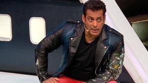Salman Khan lost his cool in Saturday's episode of Bigg Boss.