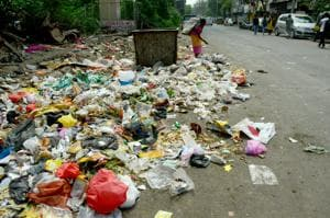 The areas such as Kharghar, Kalamboli and Kamothe which have been the worst-hit be dealt with extra caution.(HT PHOTO)