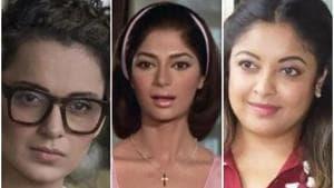 Kangana Ranaut and Simi Garewal have spoken about Tanushree Dutta.(HT Photo)