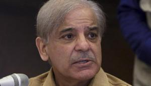 Opposition leader and president of Pakistan Muslims League-N party Shahbaz Sharif during a press conference, in Lahore.(AP File Photo)