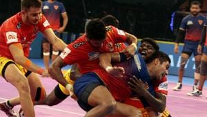 With the tie Dabang Delhi brought to an end their losing run against Gujarat Fortunegiants.(Pro Kabaddi)