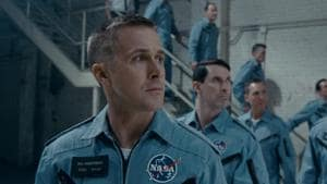 Like the iconic 2001: A Space Odyssey (1968), First Man, starring Ryan Gosling (above) too will have a lasting impact