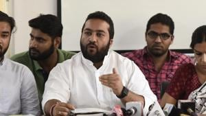 An internal panel set up to probe allegations of sexual harassment against National Students Union of India (NSUI) chief Fairoz Khan has submitted its report to the Congress leadership, a party functionary said Friday.(Burhaan Kinu/HT PHOTO)