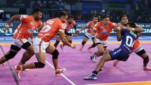 Puneri paltan are now top of the Zone A table.(Pro Kabaddi)
