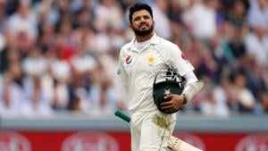 Azhar Ali was dismissed in the most comical way(Action Images via Reuters)