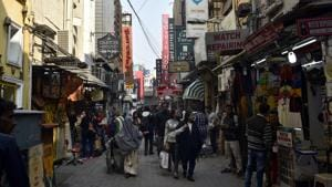 The Khan Market redevelopment plan will be tabled in the New Delhi Municipal Council's meeting in December.(HT File Photo)