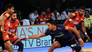 Bengaluru Bulls are now top of the Zone B table.(Pro Kabaddi)