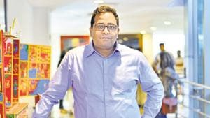 Paytm founder Vijay Shekhar Sharma received extortion calls from an ISD number. Three people, including two Paytm employees, were arrested.(Mint File Photo)