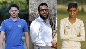 Vijayveer, Anjum Bashir and Nisha(HT Photo)