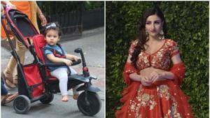 Mother and daughter Soha Ali Khan and Inaaya Naummi Kemmu remained busy on Wednesday.(Viral Bhayani)