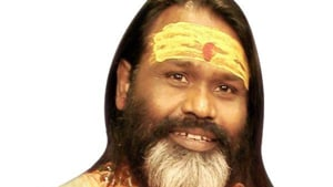 The CBI has booked self-styled preacher Daati Maharaj, who runs a temple in South Delhi, for allegedly raping and having unnatural sex with an inmate of his ashram, officials said Friday.(ANI Photo)
