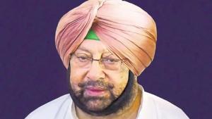 Captain Amarinder Singh(HT File)