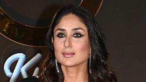 Kareena Kapoor Khan poses at an event.(AFP)