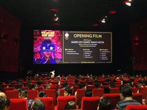 For one week, a handful of cinemas across the city are overrun by crazed cinephiles with bloodshot eyes and varying levels of desperation.(@MumbaiFilmFest)