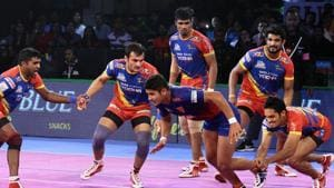 UP Yoddha are now top of Zone B table.(Pro Kabaddi)