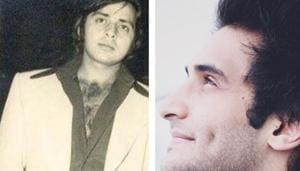 Late Bollywood actor Vinod Mehra's son Rohan Mehra recently featured in the film Baazaar.(Instagram)