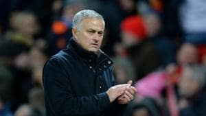 File image of Manchester United manager Jose Mourinho.(REUTERS)