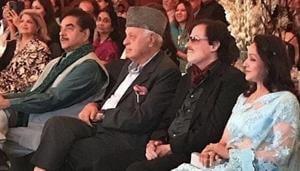 Hema Malini, Sanjay Khan, Farooq Abdullah and Shatrughan Sinha