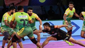 Telugu Titans are now top of Zone B table.(Pro Kabaddi)