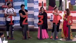 The contestants were ranked on the basis of their performance in the Bigg Boss house.(Twitter)