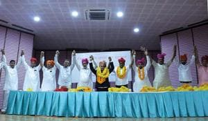 Leaders of various caste groups have been demanding that the BJP and the Congress give them adequate tickets for the December 7 Rajasthan assembly elections (File photo)(HT Photo)
