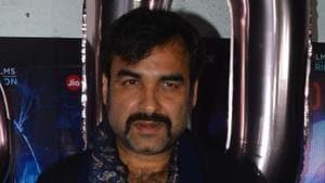 Pankaj Tripathi at the success party of Stree in Mumbai in September this year.(IANS)