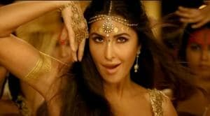 Katrina Kaif is a golden sight in song from Thugs of Hindostan.(YouTube)