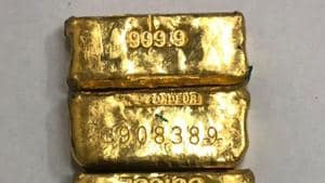 Senior DRI officials said the gold was to be supplied to markets such as Kucha Mahajani in Old Delhi and Karol Bagh.(HT File Photo)