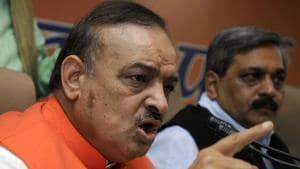 Sharma not only used unparliamentary language but also made derogatory remarks against a woman legislator, Alka Lamba, during a debate on a public issue(HT File Photo)
