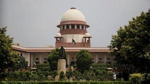 A view of the Supreme Court in New Delhi.(AP File Photo)