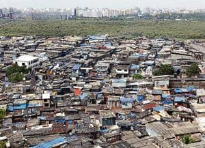 An overview of Dharavi, one of the largest slum pockets in Asia. In India there isn't enough data on the path out of 'slumhood' to 'neighbourhood'(Hindustan Times)